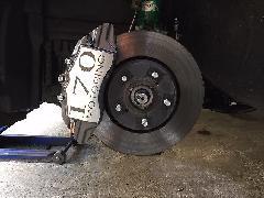 30ヴェルファイア専用 ブレーキキャリパーカバーVer4 ヘアライン仕様