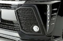 30ヴェルファイア Zグレード用 フォグランプフレーム(マットブラック)
