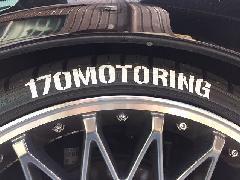 タイヤステッカー Mサイズ 4枚セット