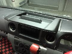 NV350キャラバン ワイド エアロナビバイザー with BodyLine