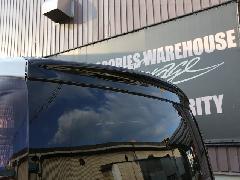 80VOXY V&Xグレード リアウイング ABSソリッド艶有りブラック