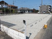 砕石により駐車場施工例