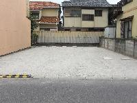 砕石による駐車場施工例(2)