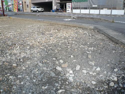 小牧市5台分駐車場施工