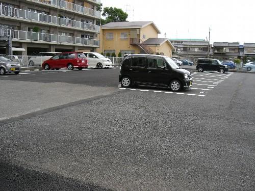 一宮市浅井町にて駐車場施工