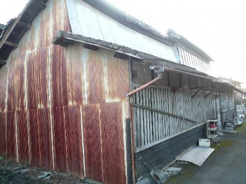 愛知県一宮市にて木造平屋建旧工場の解体工事