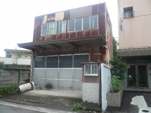愛知県名古屋市西区の鉄骨造建物解体工事
