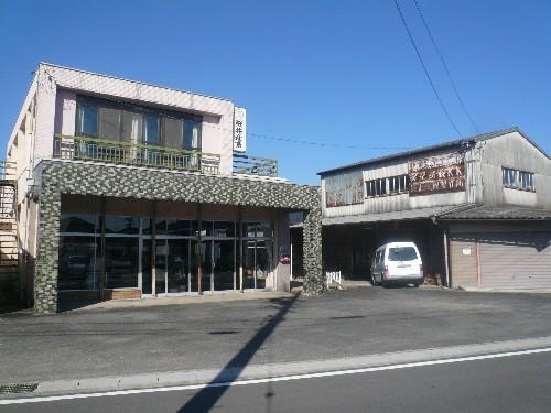 岐阜県各務原市の鉄骨造2階建店舗・工場の解体