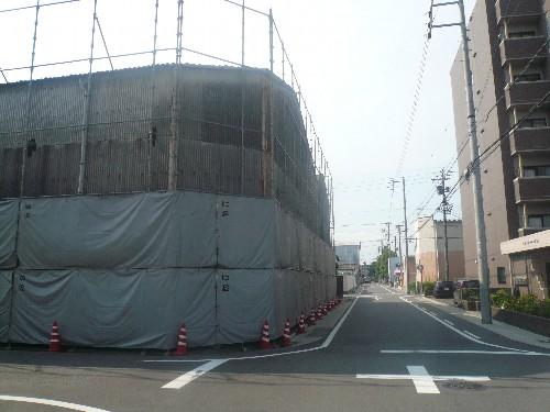 名古屋市の鉄骨造工場解体工事