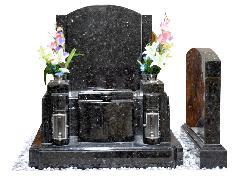 洋墓 (黒)石種/エメラルドパール(ノルウェー)