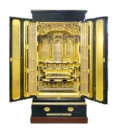 二尺四寸 極上大阪型金箔御仏壇