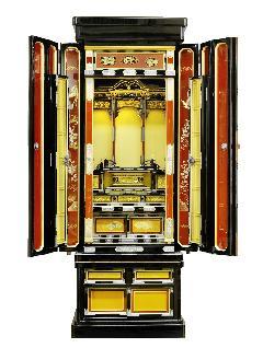 18号 モダン軸三方開き御仏壇