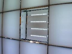 壁面に利用したLED 東京都