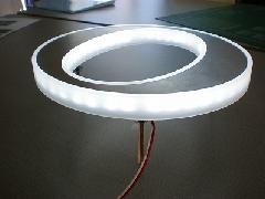 LED内臓のチャンネル文字 側面発光