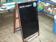 ブラックボードのA型看板 オリジナル製作
