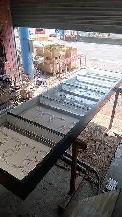 テナント案内集合看板の製作