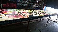 壁面看板(内照明式)の製作
