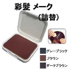 彩髪 メーク 詰替 (白髪隠しファンデーション)