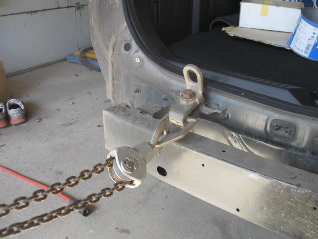 ラフェスタ ハイウェイ・スター バックドアの凹み修理