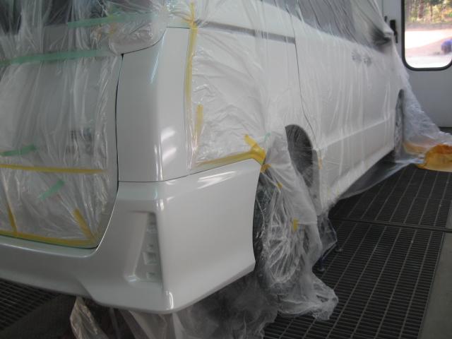 ノア塗装修理