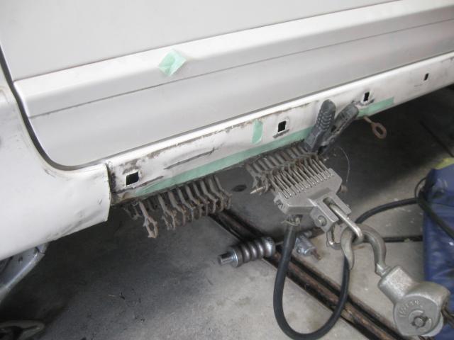 シビック・タイプR ステップ修理