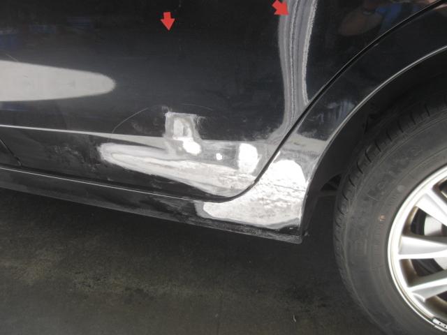 インプレッサ 左サイド修理