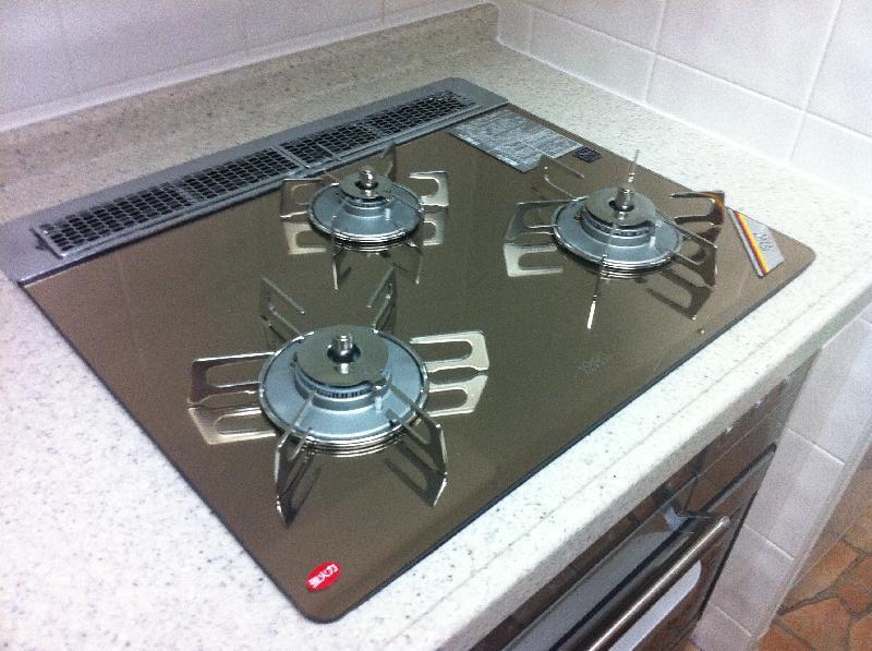キッチン床をテラコッタ調のフロアタイルに!