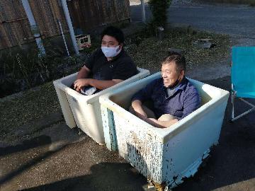 浴槽塗装研修