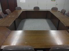 会議テーブル再塗装 東京都港区