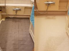 東京都板橋区 浴室床バスナアルティ施工