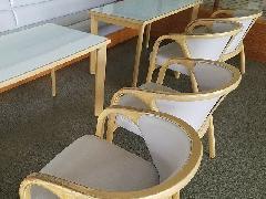東京都杉並区 クラブハウス椅子再生施工