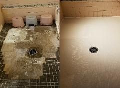 東京都墨田区 浴室アナリティスク施工