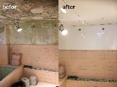 東京都墨田区 浴室パネル施工