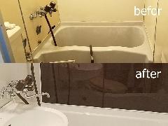 東京都 江東区 ホテル客室浴室再生施工