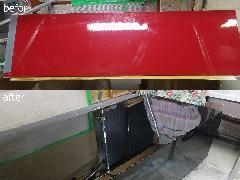 東京都港区 キッチンパネル再塗装施工