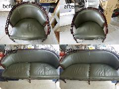 東京都江戸川区 椅子、ソファークリーニング施工