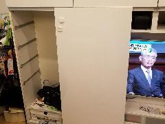 東京都新宿区 テレビボード修理施工