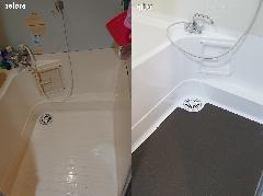 千葉県市川市 浴槽再塗装、浴室再生施工