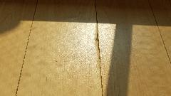 東京都板橋区 フローリングリペア施工