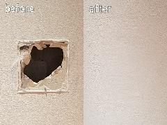 東京都江東区 壁穴修理補修