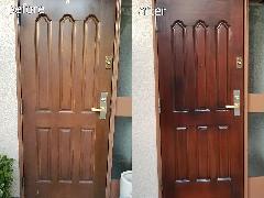 【Dr.直し屋千葉中央店】玄関扉再塗装施工