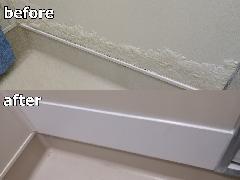千葉県柏市 浴室壁面補修施工