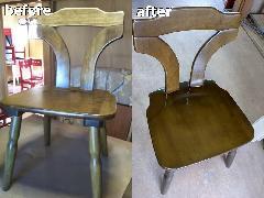 神奈川県横浜市 椅子再塗装施工