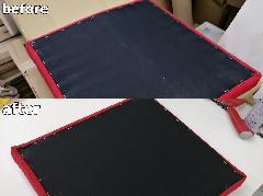 東京都中央区 椅子座面板割れ修理施工