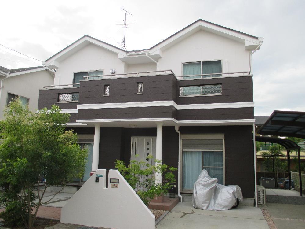 Y様邸 全塗装(屋根、壁面、ベランダ防水)