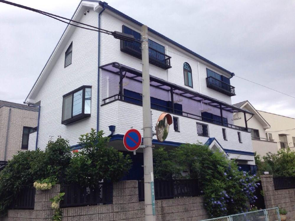 F様邸 全塗装(屋根、壁面、ベランダ防水)