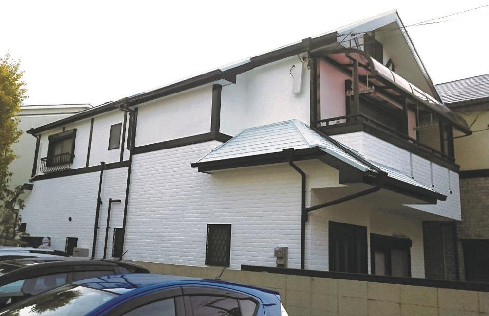O様邸 屋根、壁面、雨戸工事