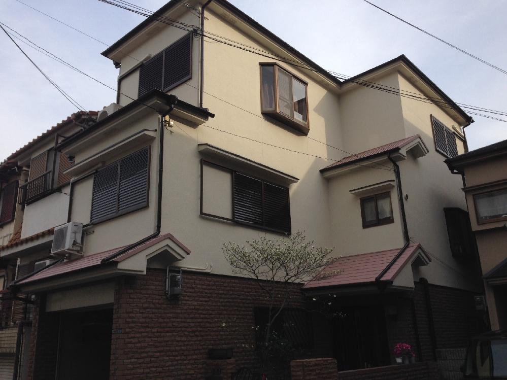 A様邸 全塗装(屋根、壁面、ベランダ防水)