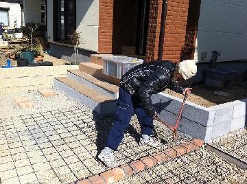 コンクリート打設前作業