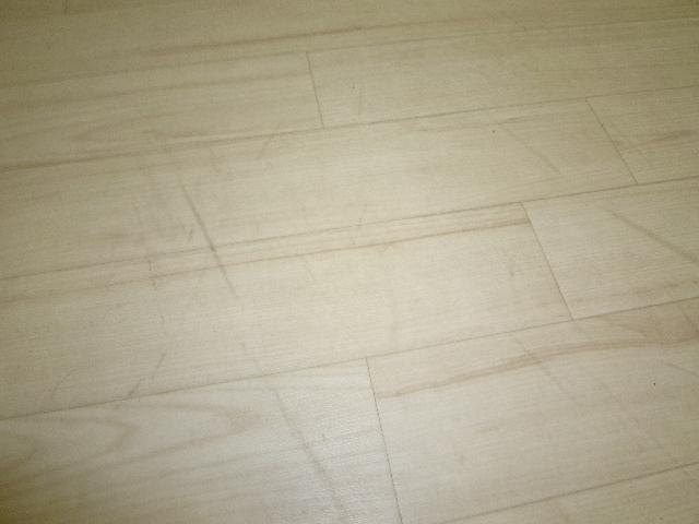 杉並区天沼事務所  床面清掃